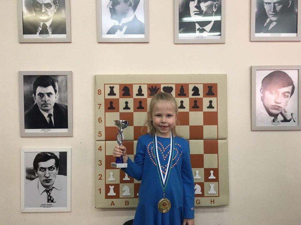 Шахматная чемпионка