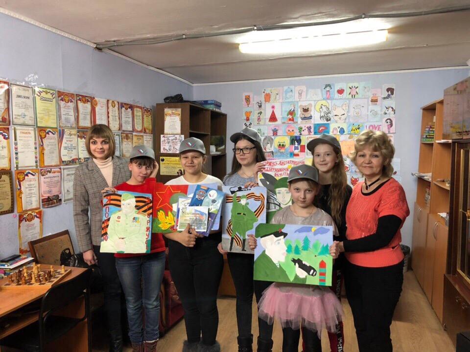 наградили победителей и участников конкурса рисунков ОНФ «Краски Единства»